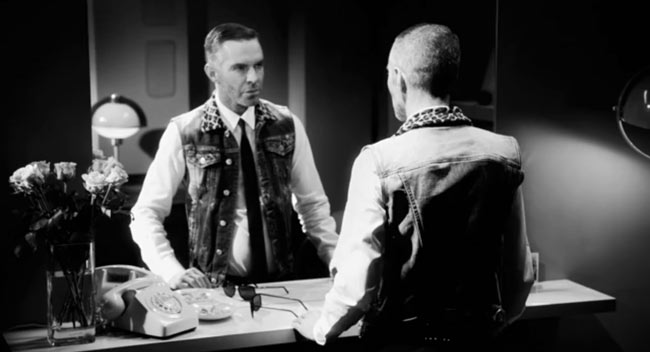 dsquared3 Dean and Dan Caten in Behind the Mirror for DSquared2 Spring/Summer 2013 Campaign Film