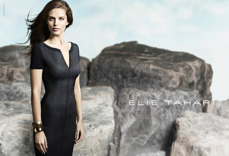 Emily DiDonato Fronts Elie Tahari's Spring 2013 Campaign by Diego Uchitel