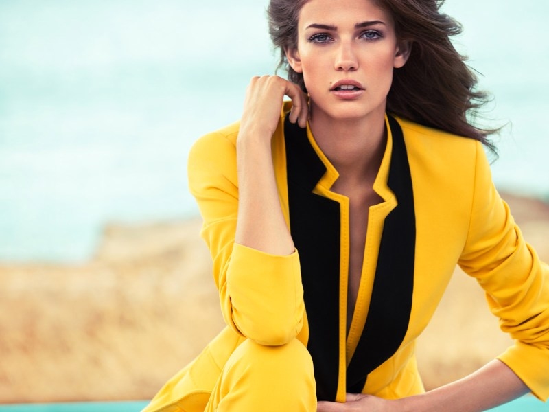 escada kendra spears campaign12 Kendra Spears Stars in Escada Spring 2013 Campaign by Knoepfel & Indlekofer