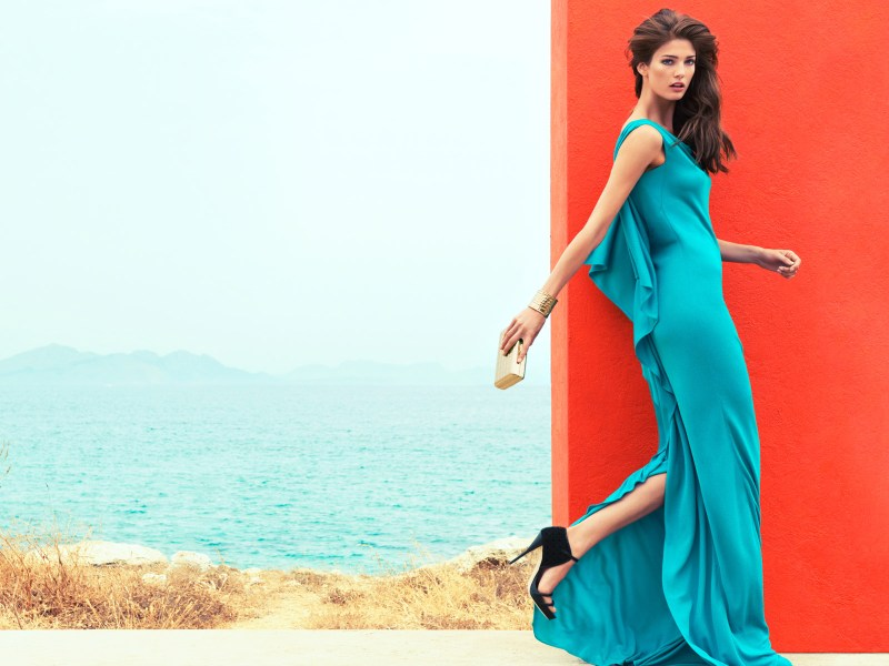 escada kendra spears campaign18 Kendra Spears Stars in Escada Spring 2013 Campaign by Knoepfel & Indlekofer