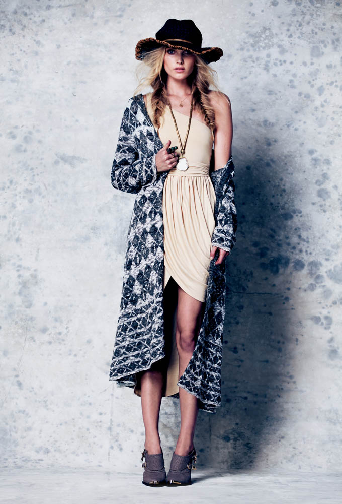 free people elsa hosk7 Free People Taps Elsa Hosk for February Lookbook