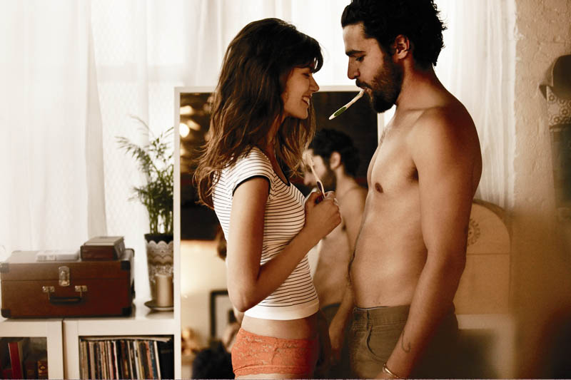free people love story10 Sheila Marquez Joins Christopher Abbott of Girls for Free Peoples February Catalogue