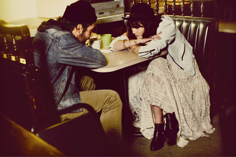free people love story11 Sheila Marquez Joins Christopher Abbott of Girls for Free Peoples February Catalogue