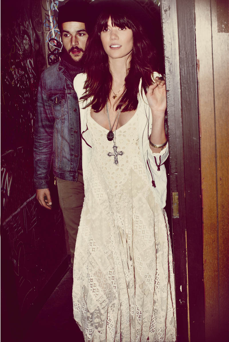 free people love story2 Sheila Marquez Joins Christopher Abbott of Girls for Free Peoples February Catalogue