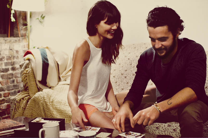 free people love story7 Sheila Marquez Joins Christopher Abbott of Girls for Free Peoples February Catalogue