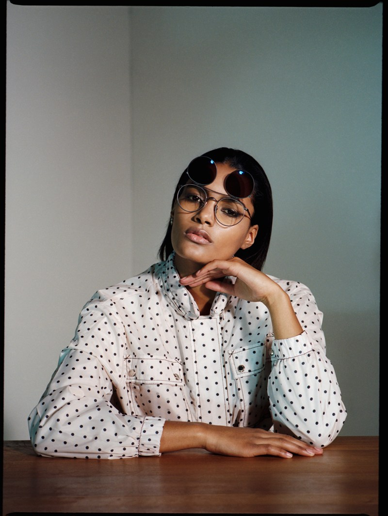 Nadia Araujo Poses for Nadine Ottawa in Friday Magazine