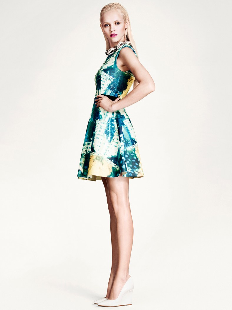 ginta hm style2 Ginta Lapina Models H&Ms Modern Retro Looks for Spring
