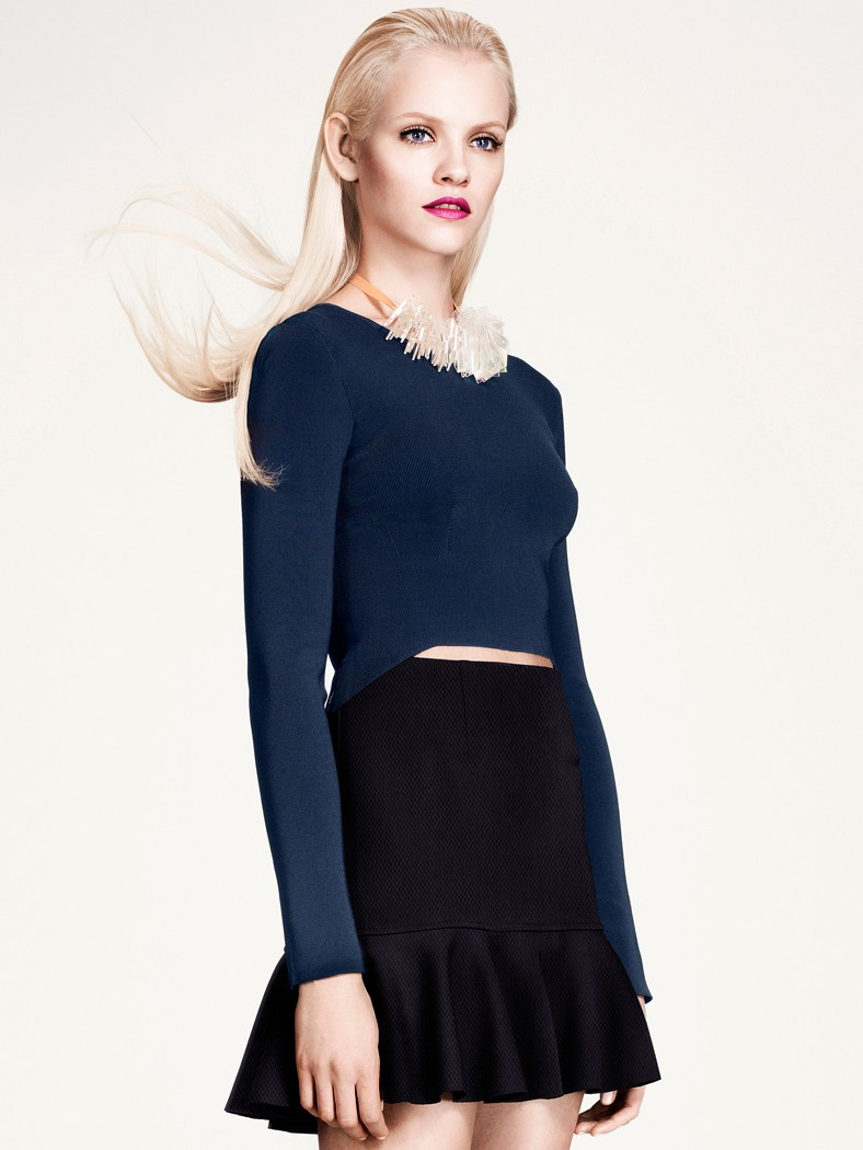 ginta hm style3 Ginta Lapina Models H&Ms Modern Retro Looks for Spring
