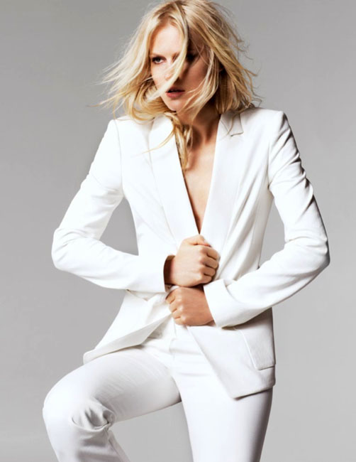 halston spring campaign1 Hartje Andresen Stars in Halston Heritage Spring 2013 Campaign