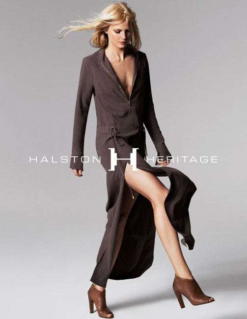 halston spring campaign8 Hartje Andresen Stars in Halston Heritage Spring 2013 Campaign