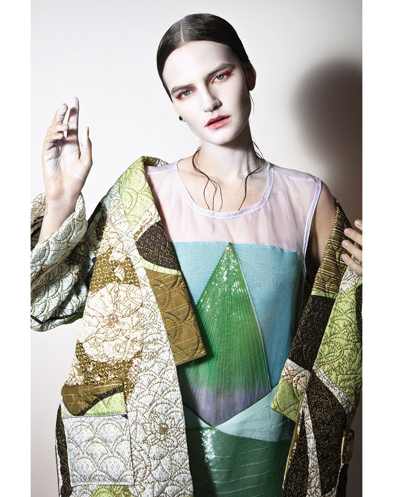 hirschy mc italia13 Hirschy Hirschfelder Dons Japanese Inspired Looks for Marie Claire Italia March 2013