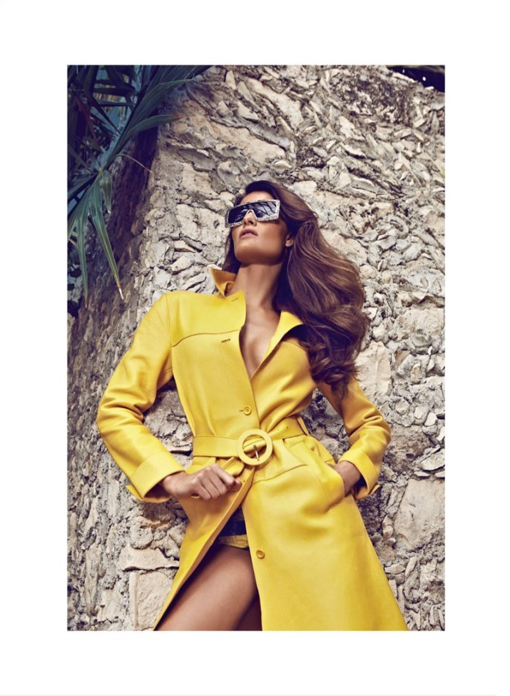isabeli fontana koray birand vogue la4 Isabeli Fontana is a Golden Girl for Vogue Latin Americas March Cover Shoot by Koray Birand
