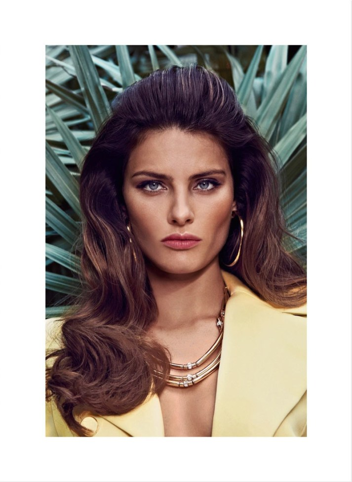 isabeli fontana koray birand vogue la8 Isabeli Fontana is a Golden Girl for Vogue Latin Americas March Cover Shoot by Koray Birand