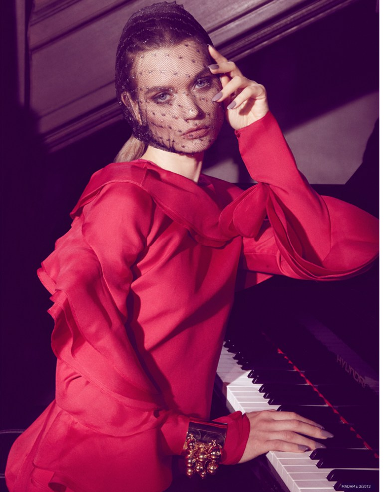 jamie nelson madame germany5 Lyoka Tyagnereva is Ladylike in Madame Germany March 2013 by Jamie Nelson