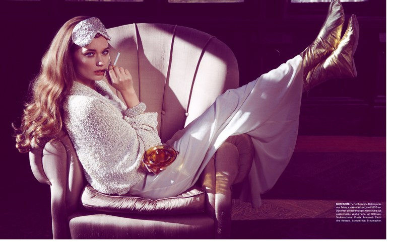 Lyoka Tyagnereva is Ladylike in Madame Germany March 2013 by Jamie Nelson
