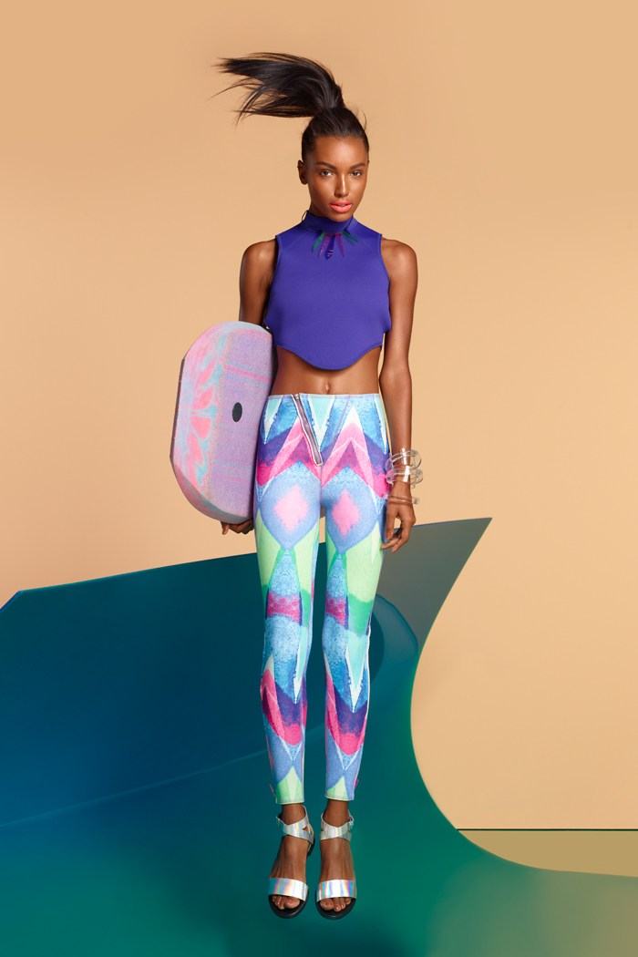 jasme tookes nasty gal12 Jasmine Tookes is Surfer Chic for the Nasty Gal Spring/Summer 2013 Collection