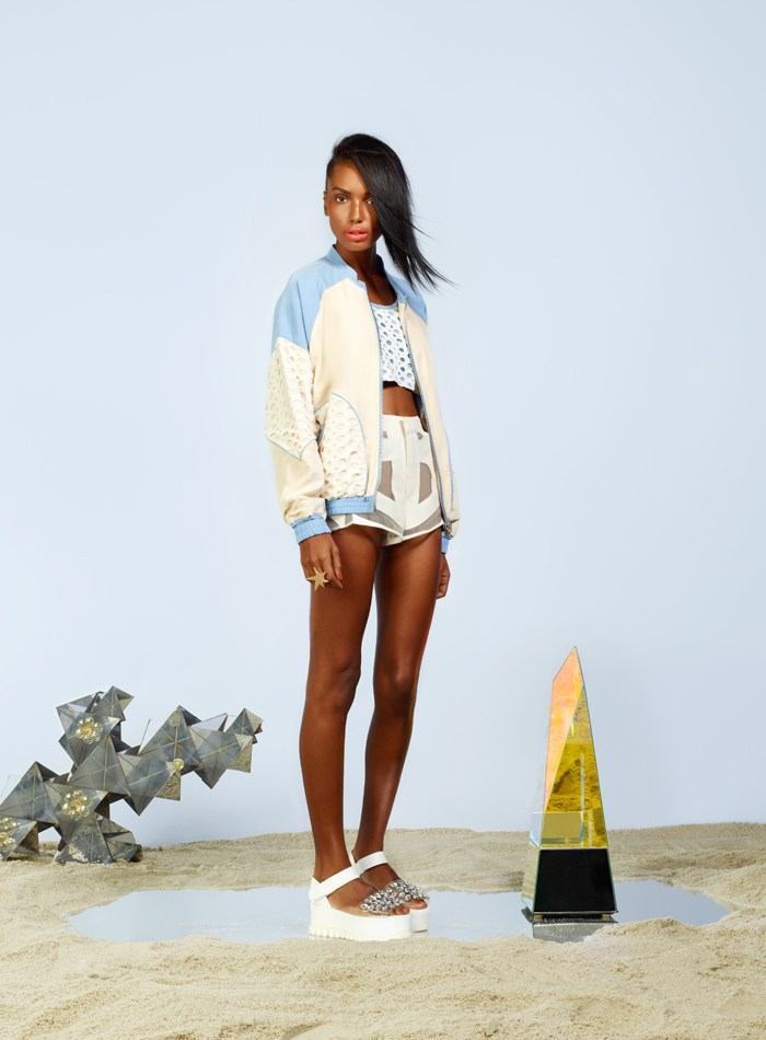 Jasmine Tookes is Surfer Chic for the Nasty Gal Spring/Summer 2013 Collection