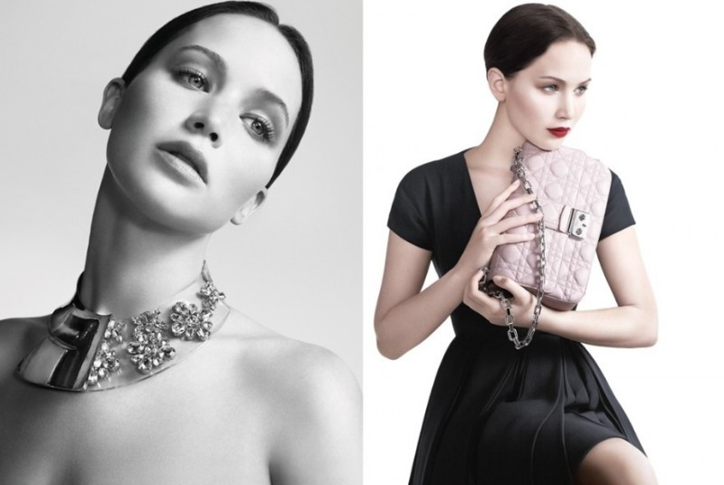 jennifer lawrence miss dior1 800x536 Jennifer Lawrence Stars in Miss Dior Spring 2013 Campaign by Willy Vanderperre