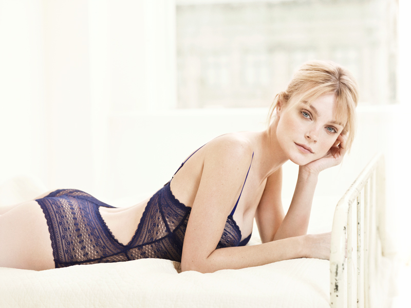 Jessica Stam Poses in Oysho's Spring 2013 Campaign by Matteo Montanari