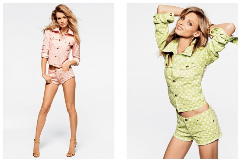juicy couture mailer10 800x537 Anna Selezneva, Edita Vilkeviciute and Magdalena Frackowiak Model Juicy Coutures Spring 2013 Collection
