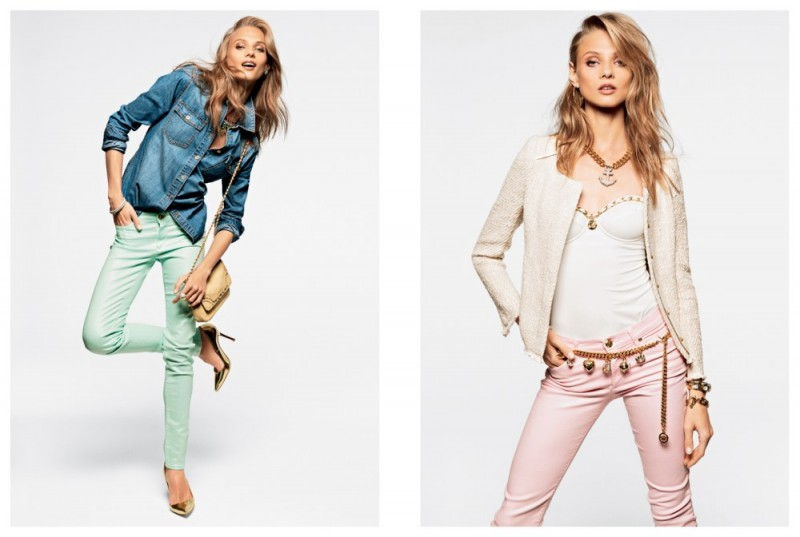 juicy couture mailer2 800x537 Anna Selezneva, Edita Vilkeviciute and Magdalena Frackowiak Model Juicy Coutures Spring 2013 Collection