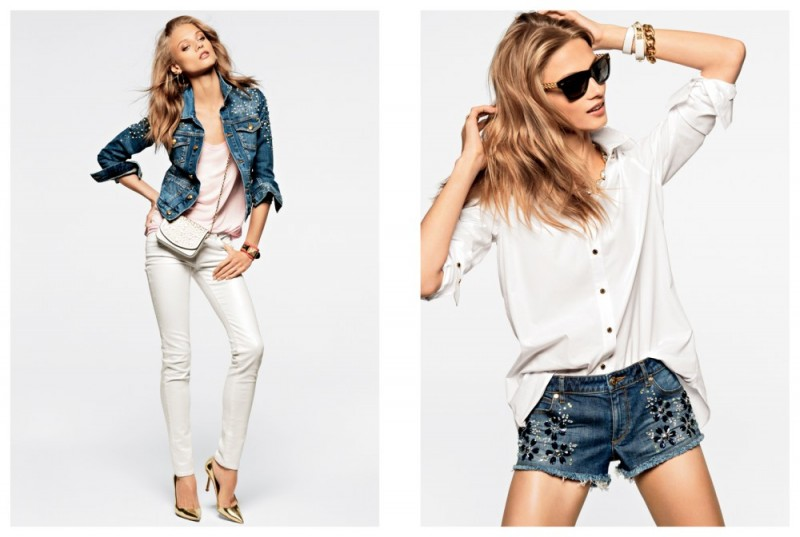 juicy couture mailer4 800x537 Anna Selezneva, Edita Vilkeviciute and Magdalena Frackowiak Model Juicy Coutures Spring 2013 Collection