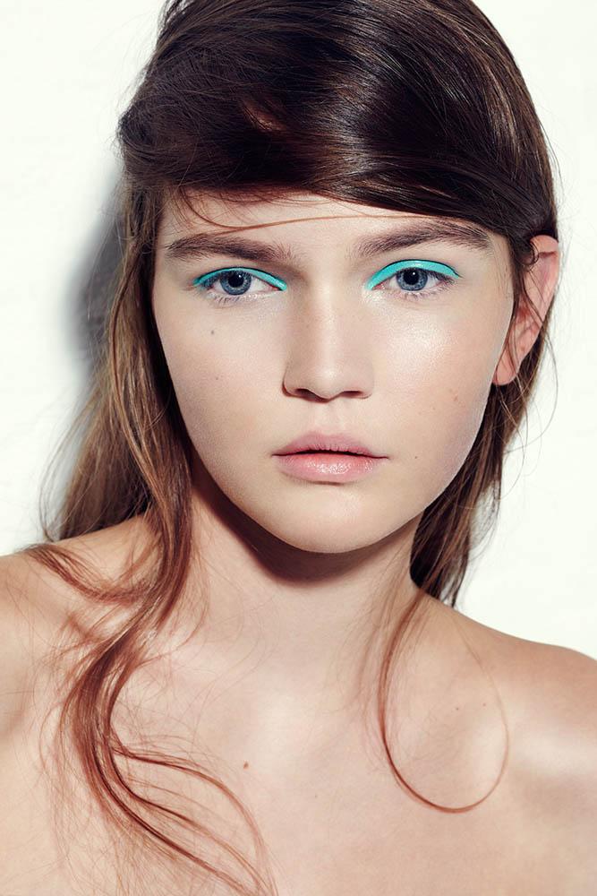 Kamille Poses for Liv Friis-Larsen