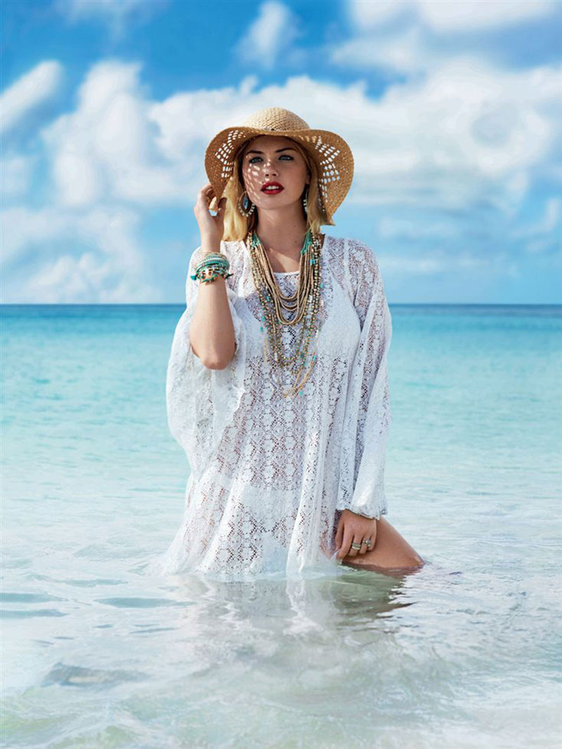 kate upton accessorize campaign spring1 Kate Upton Hits the Beach for Accessorize Spring 2013 Campaign