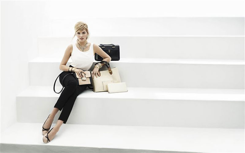 Kate Upton Hits the Beach for Accessorize Spring 2013 Campaign