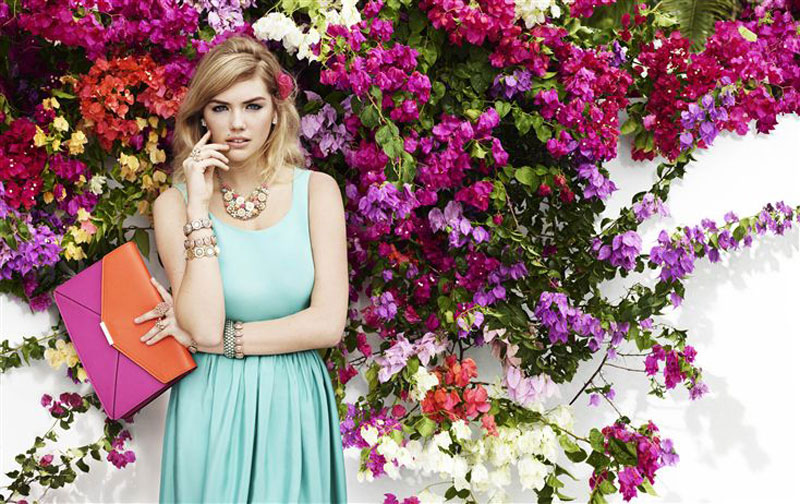 kate upton accessorize campaign spring9 Kate Upton Hits the Beach for Accessorize Spring 2013 Campaign