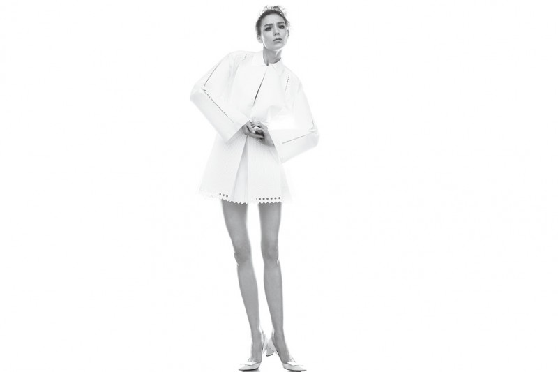kati nescher wsj shoot4 800x533 Kati Nescher is White Hot for WSJ Magazine March 2013