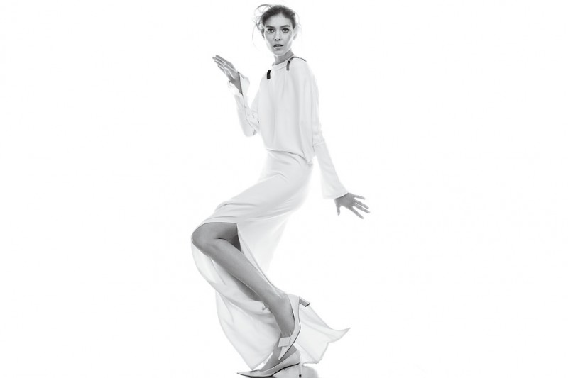 kati nescher wsj shoot7 800x533 Kati Nescher is White Hot for WSJ Magazine March 2013