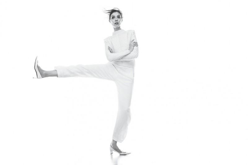Kati Nescher is White Hot for WSJ Magazine March 2013