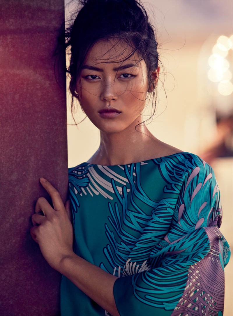 liu wen vogue australia will davidson3 Liu Wen Travels With the Circus for Vogue Australias March Issue by Will Davidson