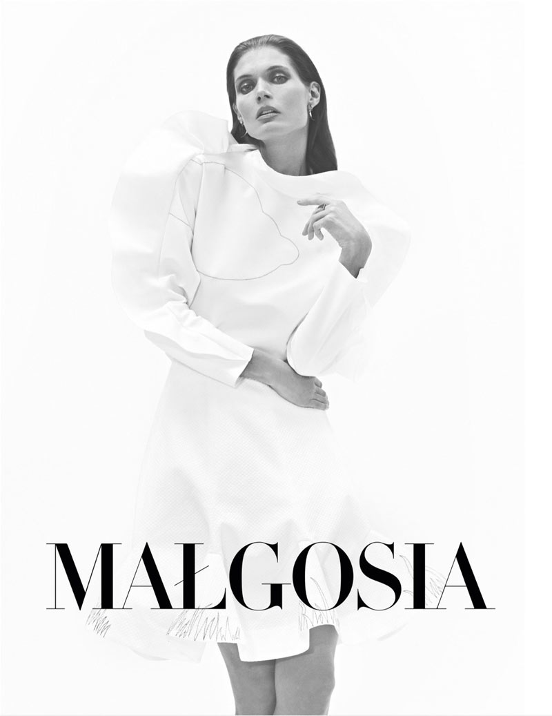 Malgosia Bela Poses in Harper's Bazaar Poland's March 2013 Cover Shoot, Shot by Koray Birand