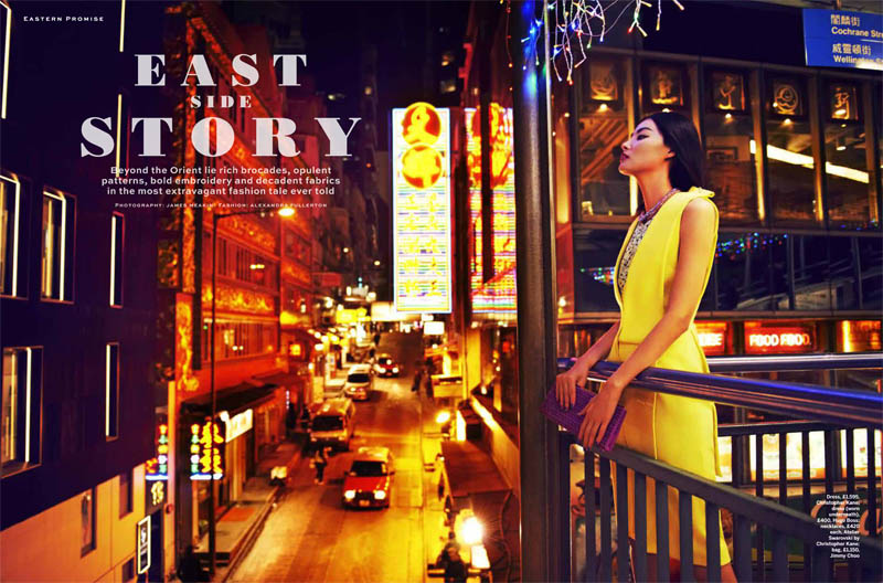 miao stylist shoot1 Miao Bin Si Shines in the Streets of Hong Kong for Stylist Magazine S/S 2013