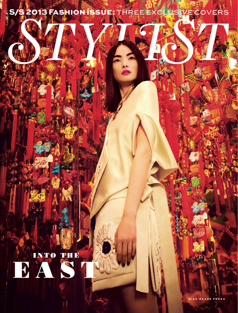 miao stylist shoot13 Miao Bin Si Shines in the Streets of Hong Kong for Stylist Magazine S/S 2013