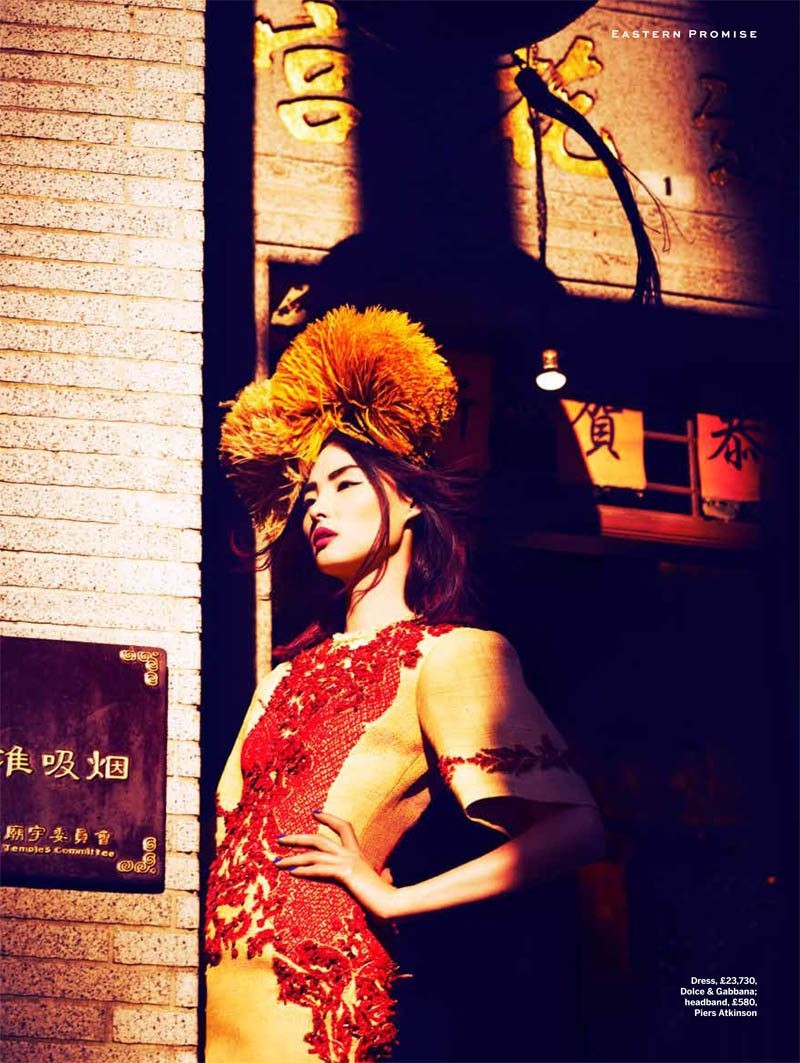 miao stylist shoot5 Miao Bin Si Shines in the Streets of Hong Kong for Stylist Magazine S/S 2013