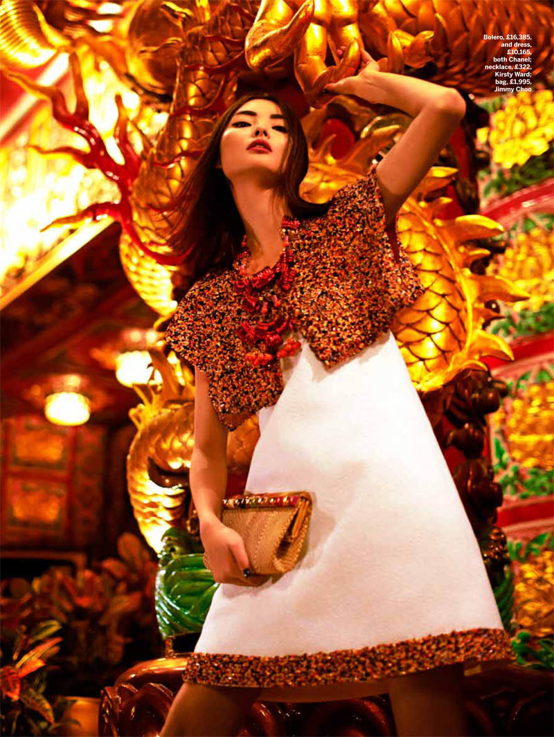 miao stylist shoot6 Miao Bin Si Shines in the Streets of Hong Kong for Stylist Magazine S/S 2013