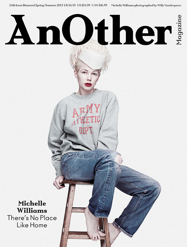 michelle williams cover another Michelle Williams Covers AnOther Magazines Spring Summer 2013 Issue