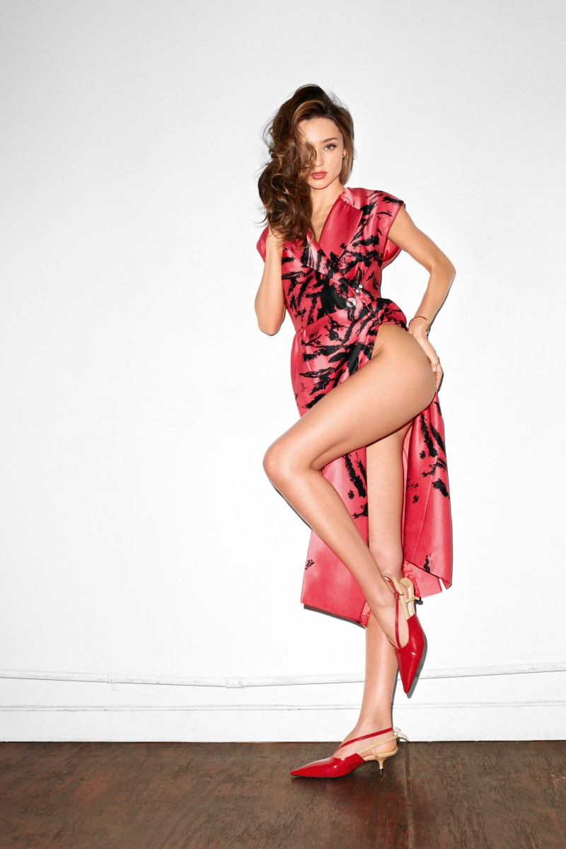 Miranda Kerr Poses for Terry Richardson in Purple Magazine's Spring/Summer Issue