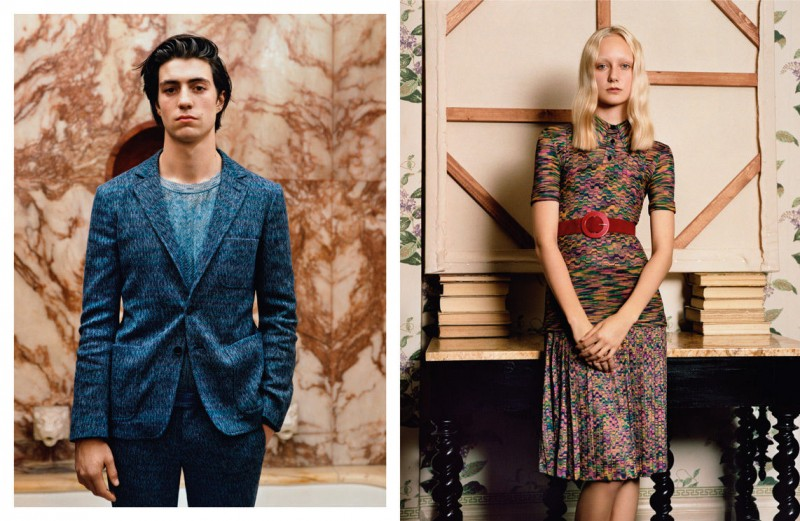 Missoni Gets Nostalgic for its Spring 2013 Campaign by Alasdair McLellan