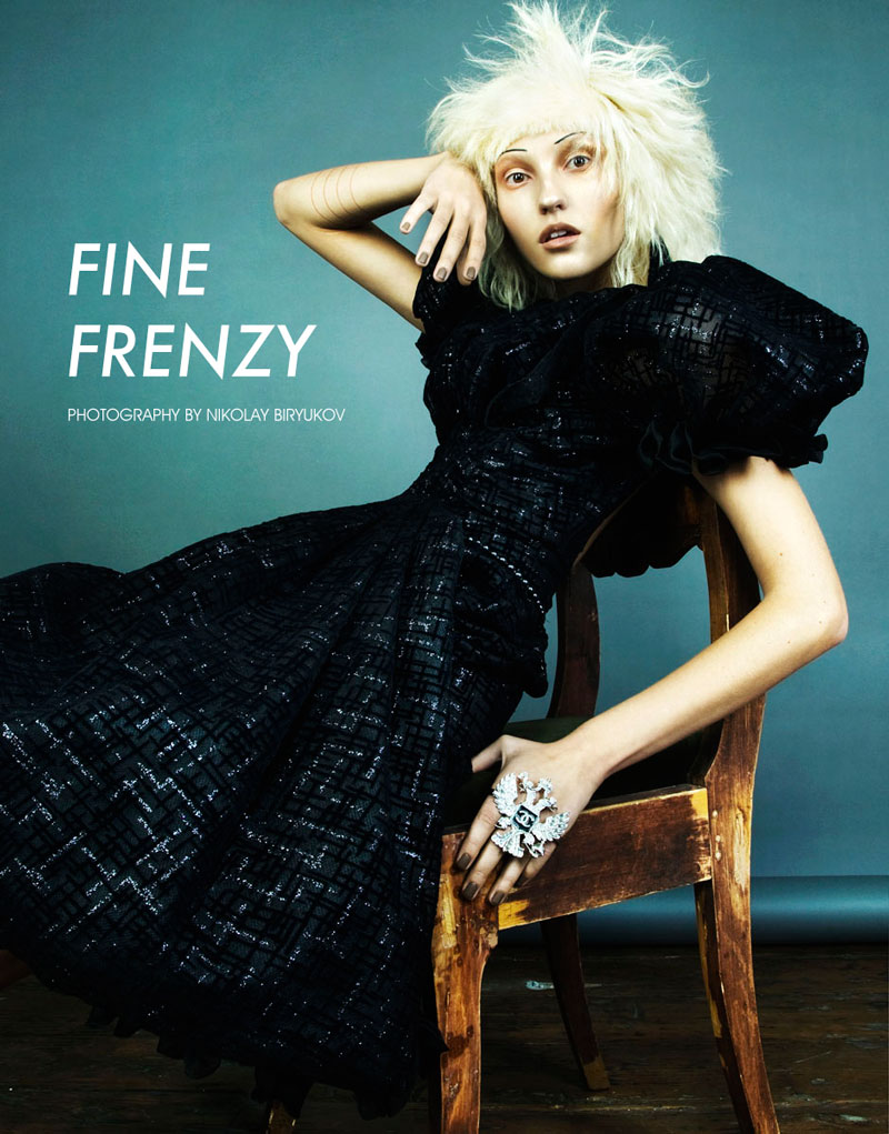 nikolay chanel Ursula Kim by Nikolay Biryukov in Fine Frenzy for Fashion Gone Rogue