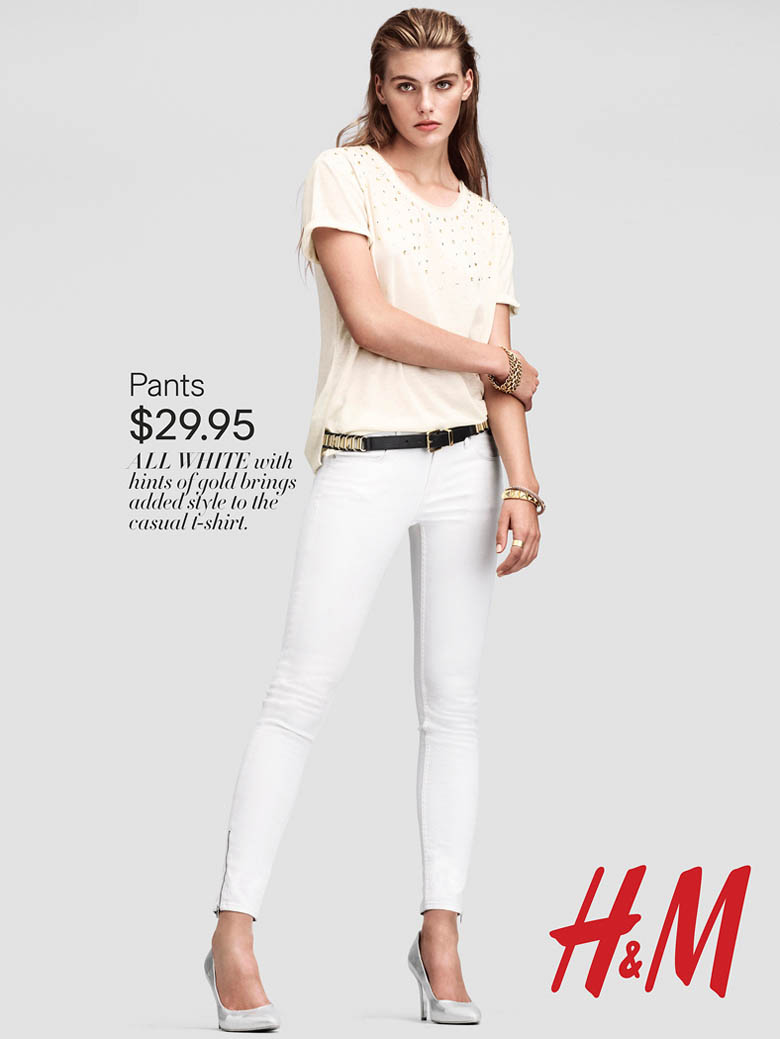 H&M Spring/Summer 2013 Lookbook.