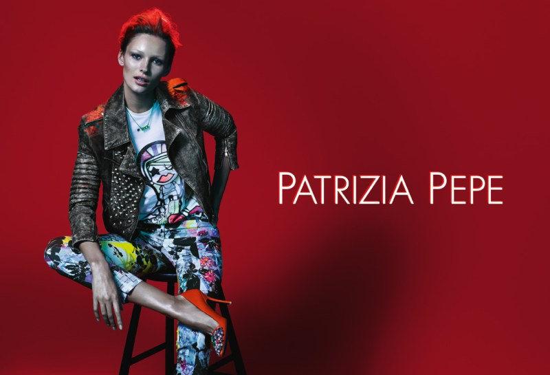 patrizia pepe spring campaign1 Edita Vilkeviciute Stars in Patrizia Pepes Spring 2013 Campaign by Mert & Marcus