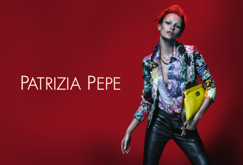 patrizia pepe spring campaign3 Edita Vilkeviciute Stars in Patrizia Pepes Spring 2013 Campaign by Mert & Marcus