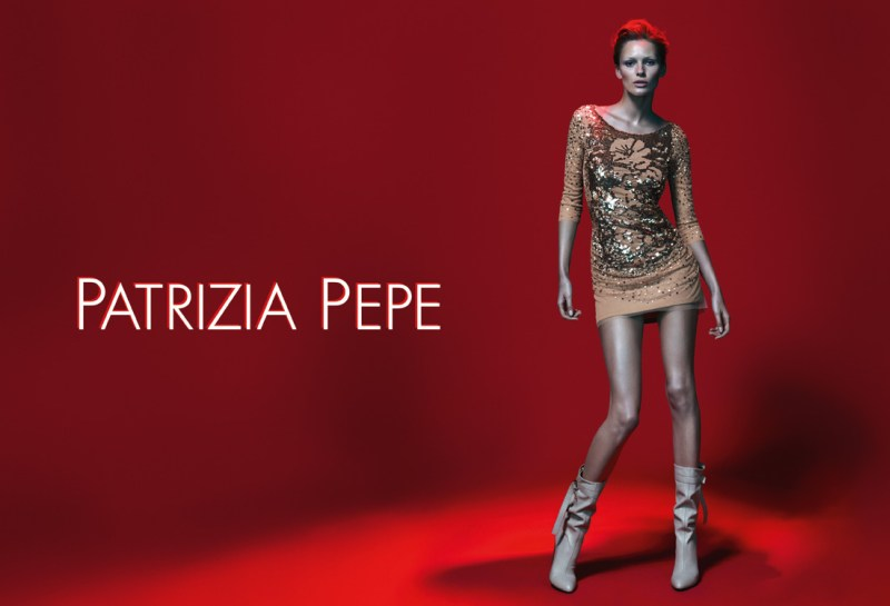 patrizia pepe spring campaign4 Edita Vilkeviciute Stars in Patrizia Pepes Spring 2013 Campaign by Mert & Marcus
