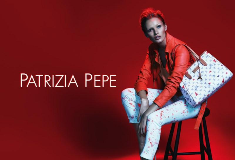 patrizia pepe spring campaign5 Edita Vilkeviciute Stars in Patrizia Pepes Spring 2013 Campaign by Mert & Marcus