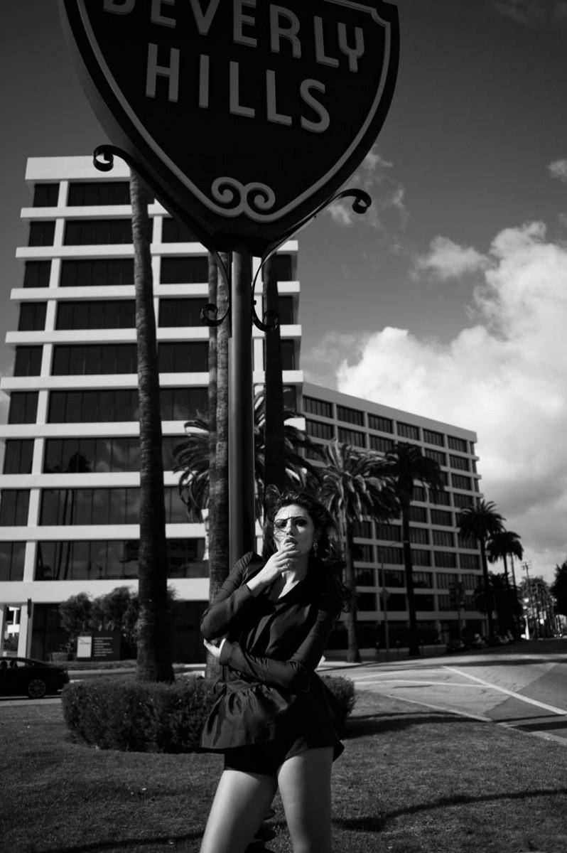 """Phoebe Tonkin by Zanita Morgan in """"Phoebe Takes LA"""" for Fashion Gone Rogue"""