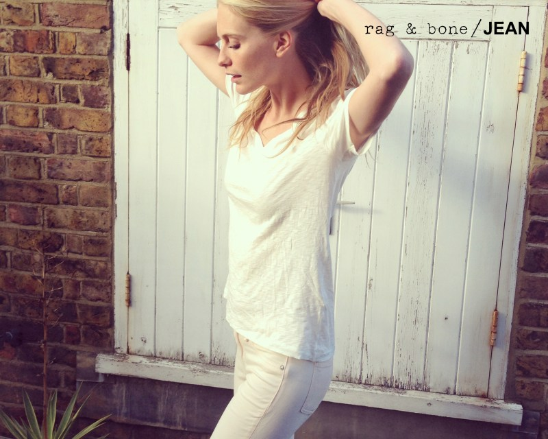 Poppy Delevingne Stars in Rag & Bone's D.I.Y. Project for Spring 2013